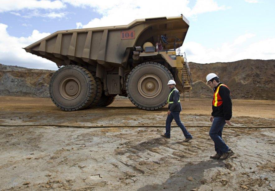 La mine de fer de la Consolidated Thompson,... (Photothèque La Soleil)