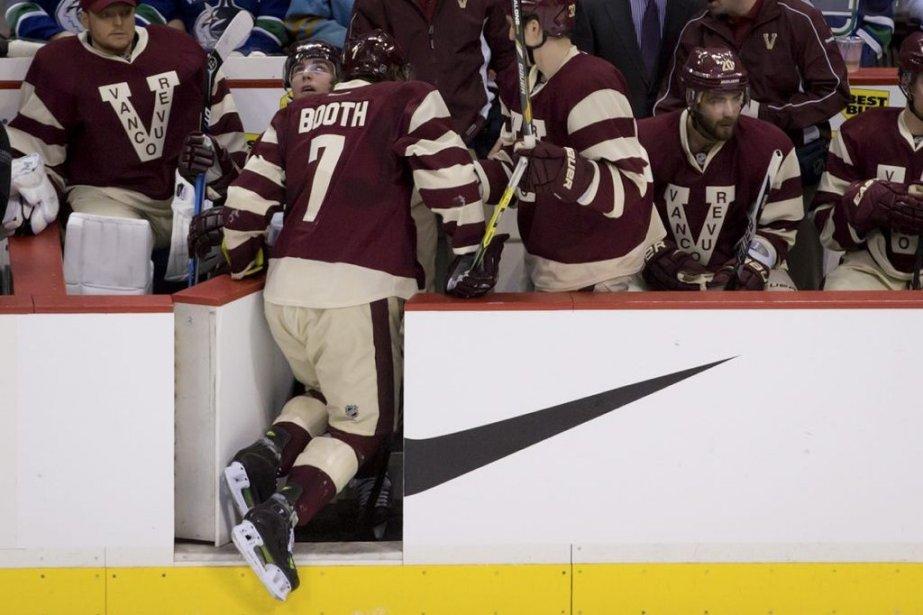 David Booth aurait subit une entorse à la... (Photo Darryl Dyck, La Presse Canadienne)