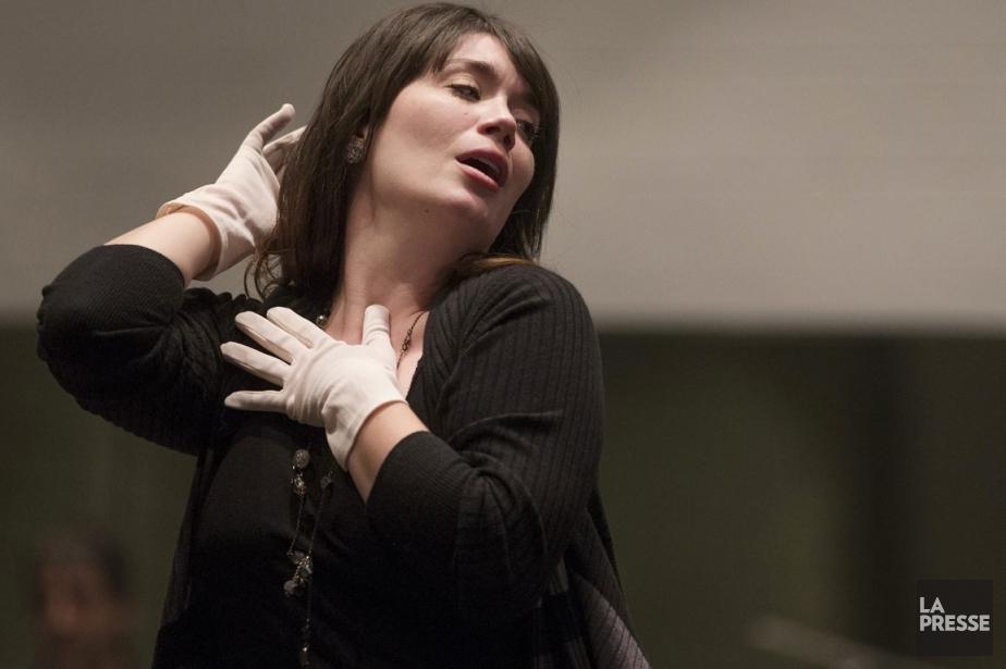 Marianne Lambert a joué dansLa chauve-souris à l'Opéra... (PHOTO IVANOH DEMERS, LA PRESSE)