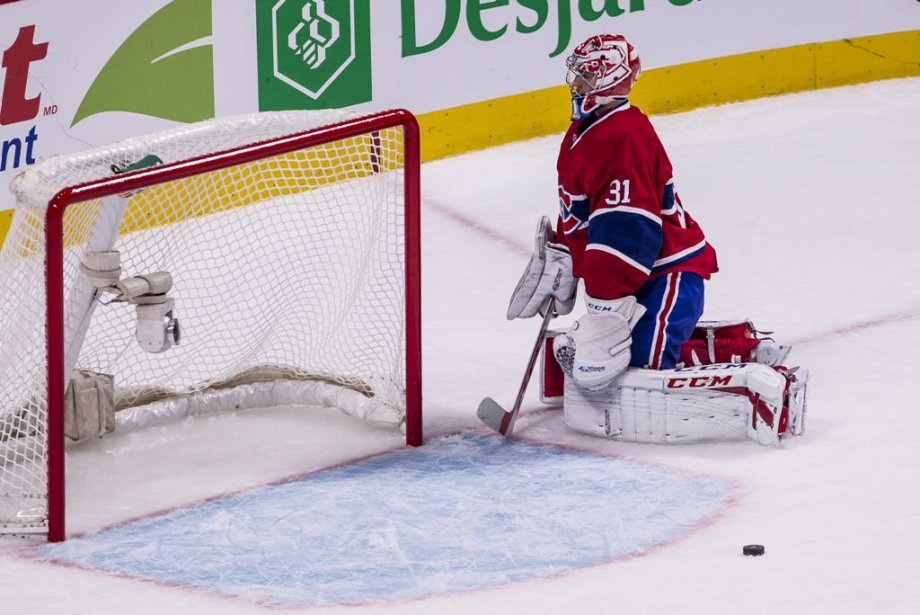 Carey Price accorde un but. | 23 mars 2013