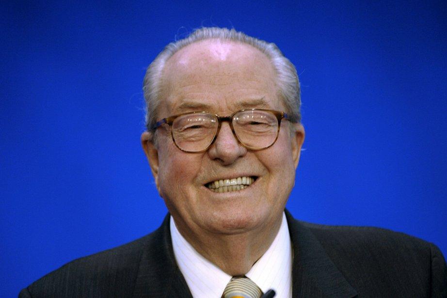 Jean-Marie Le Pen... (Photo: archives AFP)