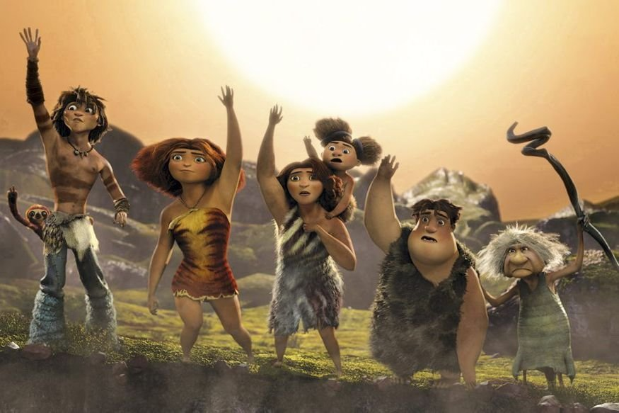The Croods raconte l'odyssée d'une famille préhistorique pour... (PHOTO FOURNIE PAR DREAMWORKS)