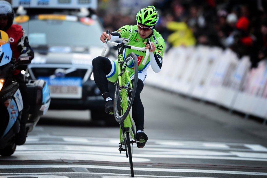 Peter Sagan a remporté dimanche la classique ... (Photo : Yorick Jansens, AFP)