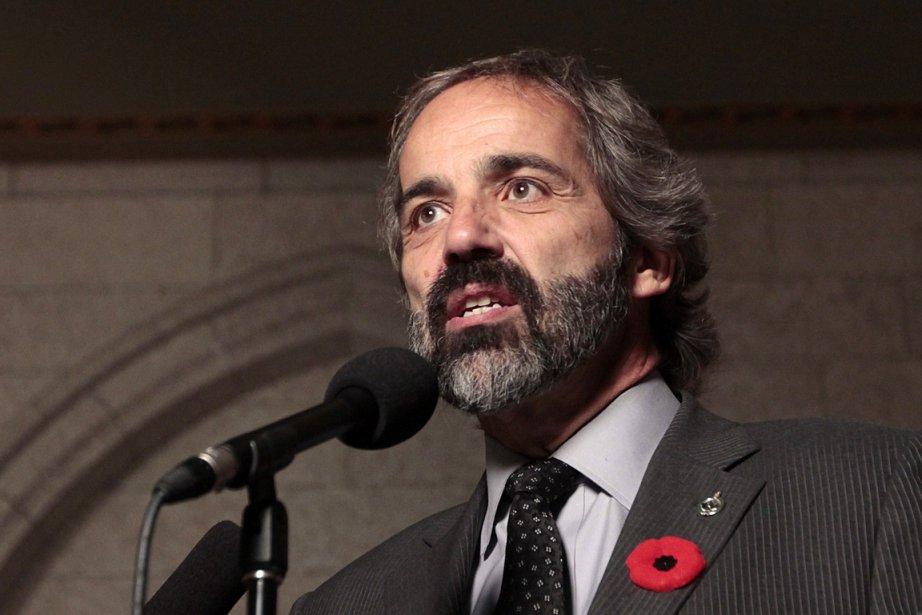 Le chef du Bloc québécois Daniel Paillé.... (Photo: Étienne Ranger, archives Le Droit)