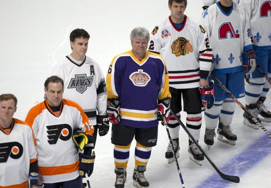 Les légendes de la LNH affrontaient les Anciens Canadiens. | 24 mars 2013