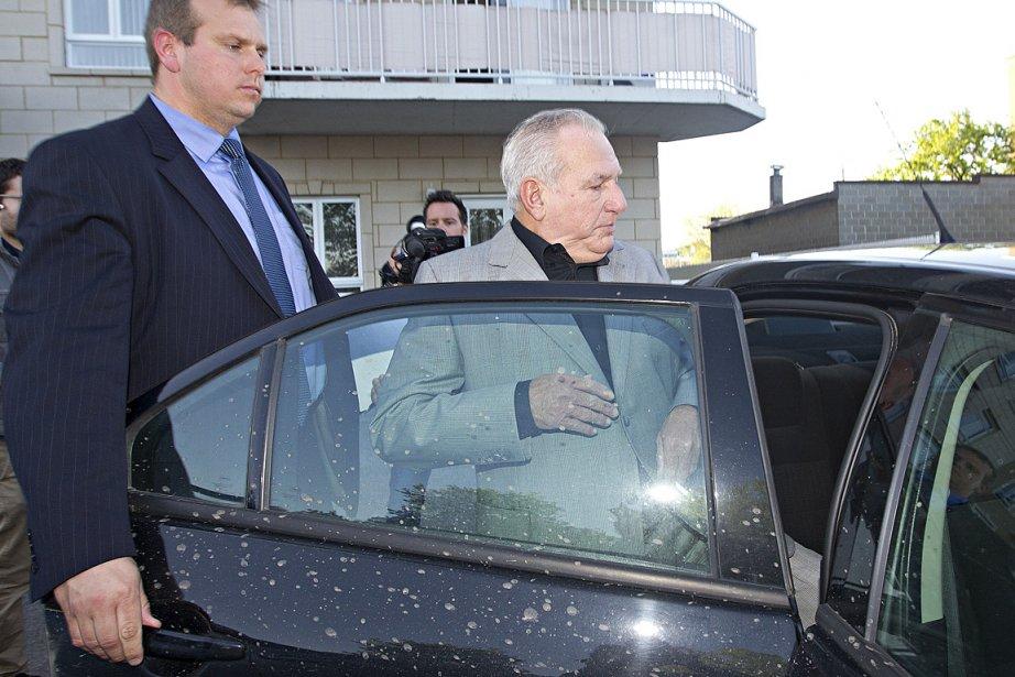 Bernard Trépanier, arrêté à sa résidence de Saint-Léonard,... (Photos: Patrick Sanfaçon, archives La Presse)