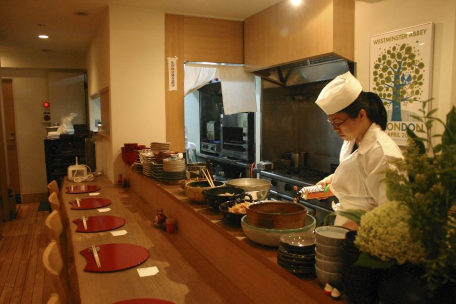 La chef Mayumi Tanizawa propose des plats traditionnels de Kyoto au restaurant Mayu Zen. | 25 mars 2013
