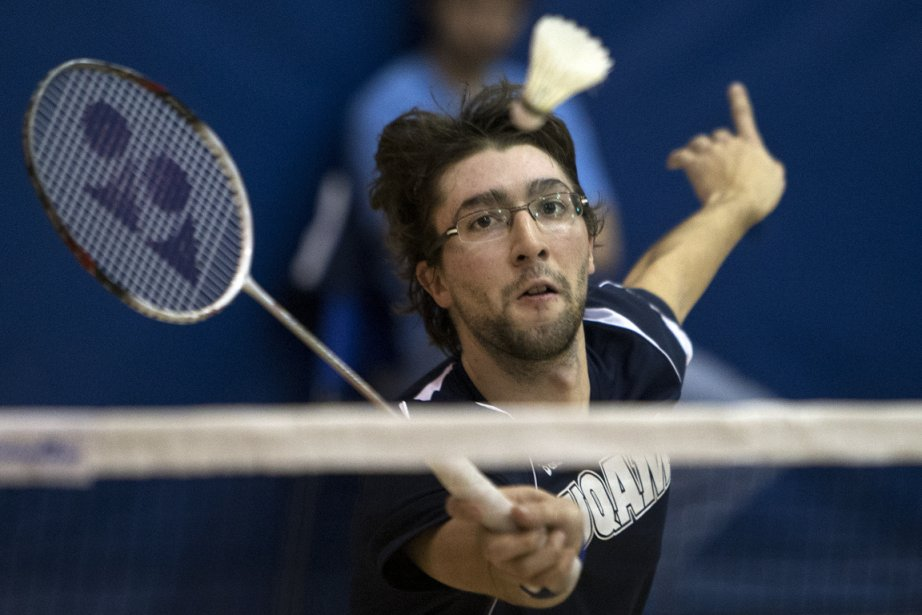 Philippe Gaumond a perdu la finale en simple... (Photo Robert Skinner, La Presse)