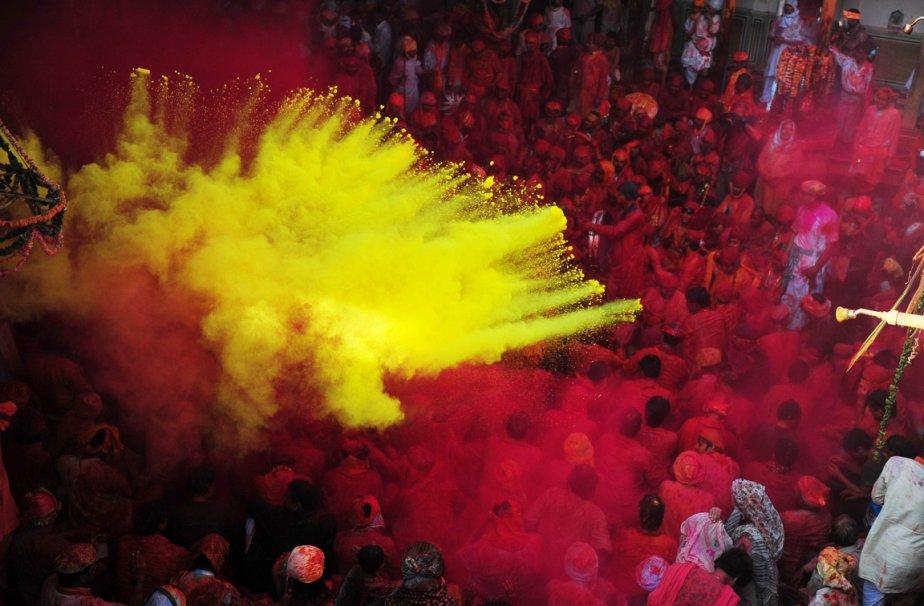 Barsana, Inde | 25 mars 2013
