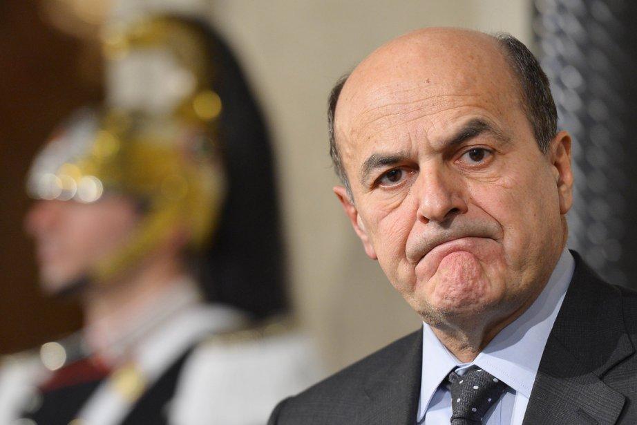 La coalition de gauche de Pier Luigi Bersani,... (PHOTO VINCENZO PINTO, AFP)