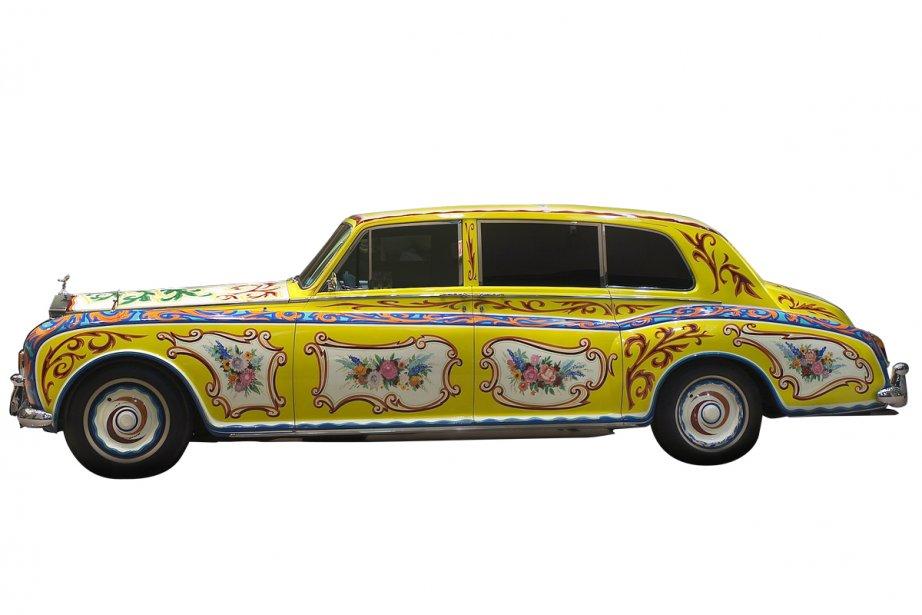 La Rolls Royce de John Lennon... (Photo: André Pichette, La Presse)