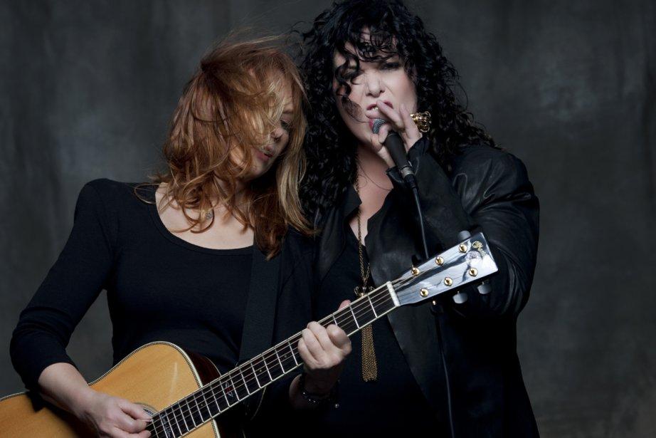Les soeurs Nancy et Ann Wilson, de Heart,... (Photo: fournie par Paul Mercs Concerts)