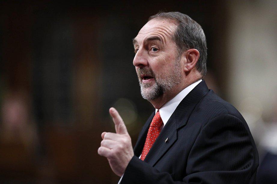 Le ministre fédéral des Transports, Denis Lebel.... (Photo: Reuters)