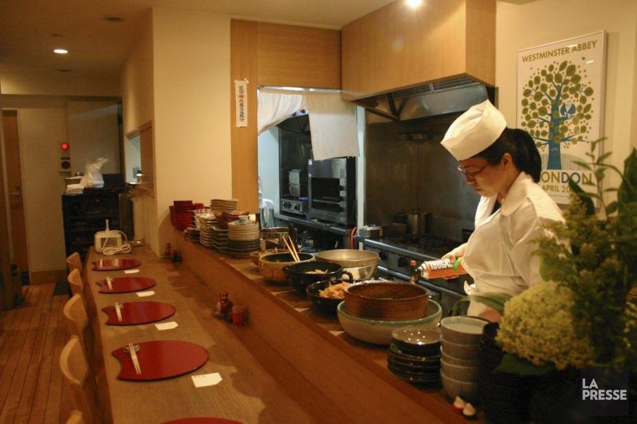 La chef Mayumi Tanizawa propose des plats traditionnels... (Photo Valérie Simard, La Presse)