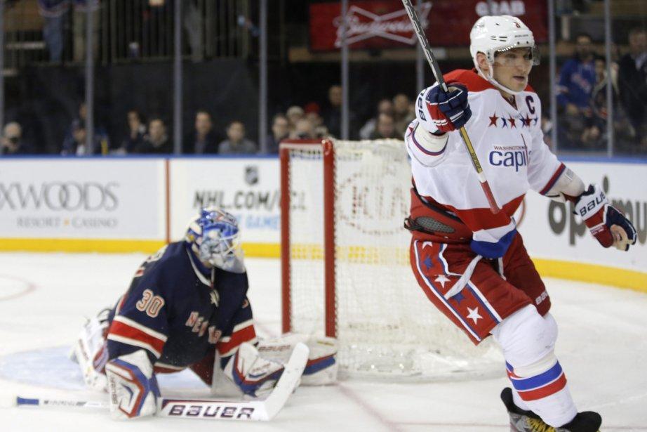Alex Ovechkin a amassé huit points en quatre... (Photo : Ray Stubblebine, archives Reuters)