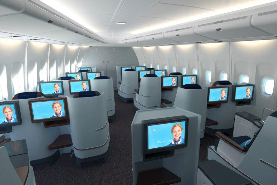 La compagnie néerlandaise KLM a dévoilé ses nouvelles... (Photo RelaxNews)