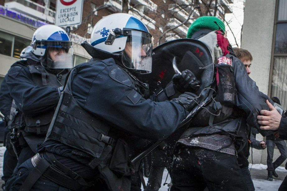 La manifestation qui a eu lieu un an... (PHOTO OLIVIER PONTBRIAND, LA PRESSE)