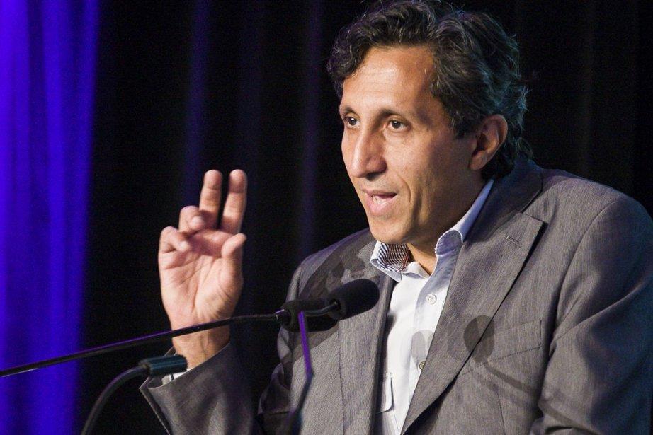 Le député de Québec solidaire Amir Khadir dénonce... (Photo Olivier Pontbriand, La Presse)