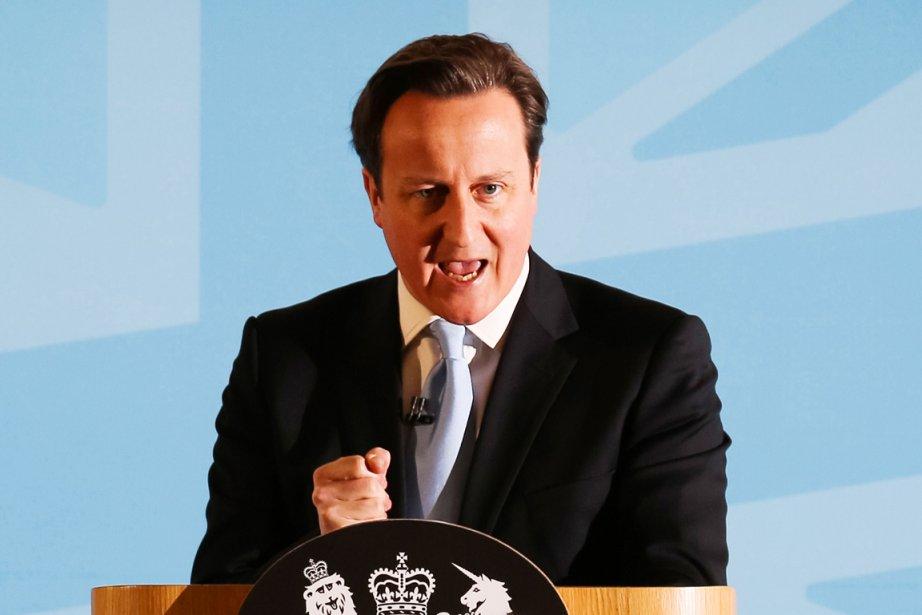 Lundi, le premier ministre britannique David Cameron a... (PHOTO PAUL ROGERS, AFP)