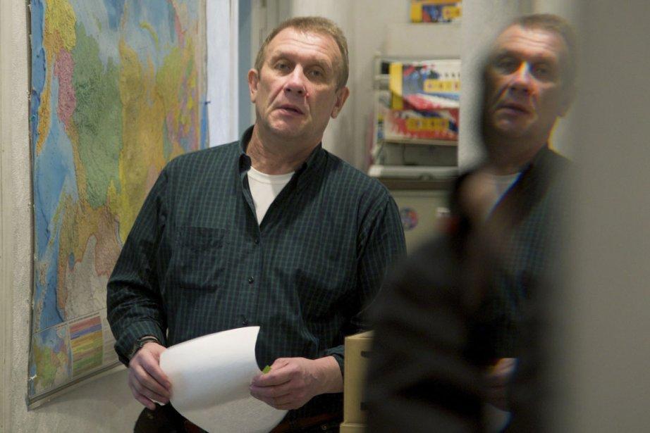 Sergei Nikitin, chef d'Amnistie internationale Russie....