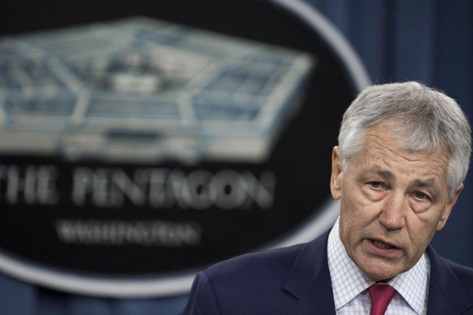 Chuck Hagel, secrétaire à la Défense des États-Unis.... (Photo Paul J. Richards/ AFP)