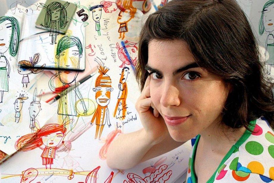 L'illustratrice et écrivaine argentine Isol... (Photo: Reuters)