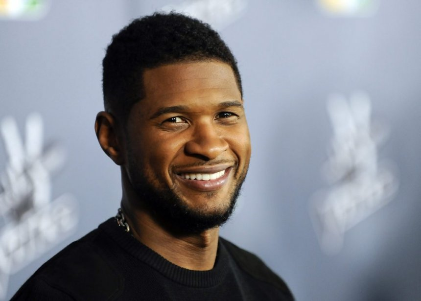 Usher... (Photo: Reuters)