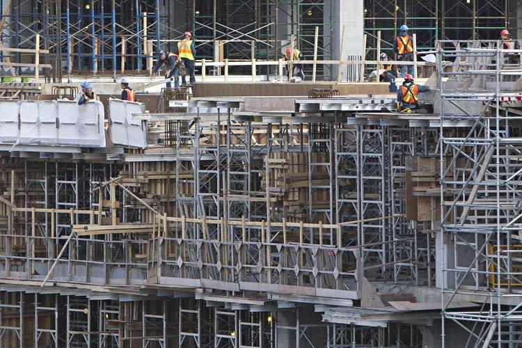 La Commission de la construction du Québec prévoit... (Photo: Patrick Sanfaçon, archives La Presse)