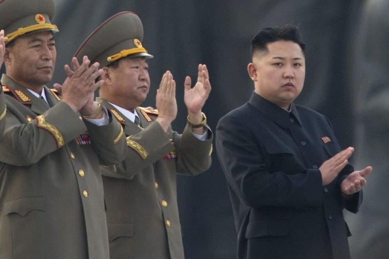 Le leader nord-coréen Kim Jong-Un.... (Photo AFP)