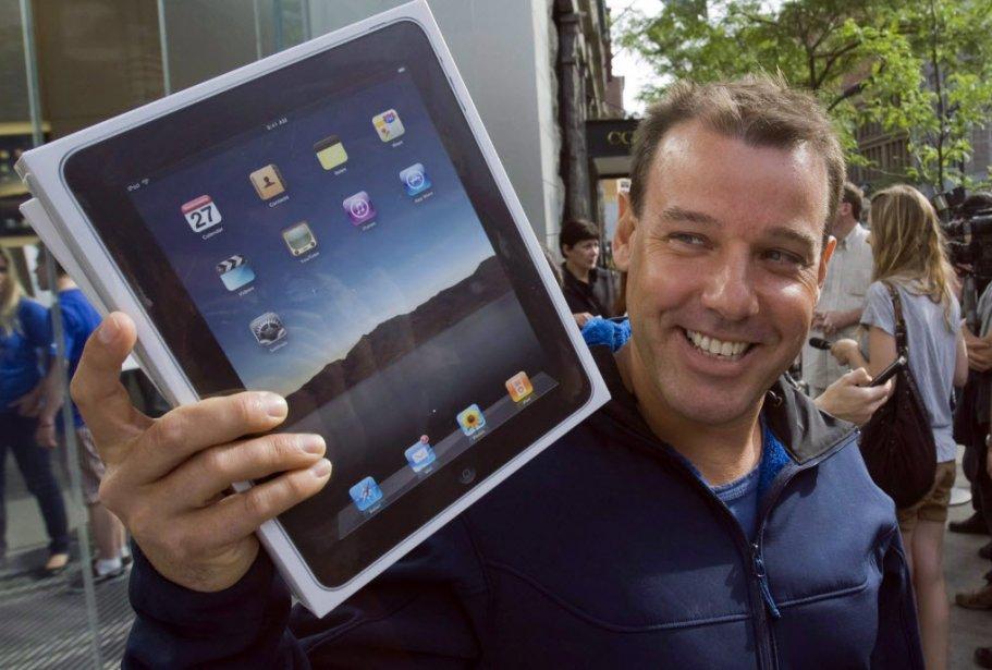 Une majorité (58,2%) de propriétaires de tablettes en France s'en sert...