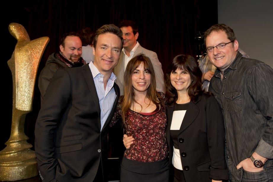 Mario Tessier, Anne Casabonne, Guylaine Tremblay et Paul... (Photo: Alain Roberge, La Presse)