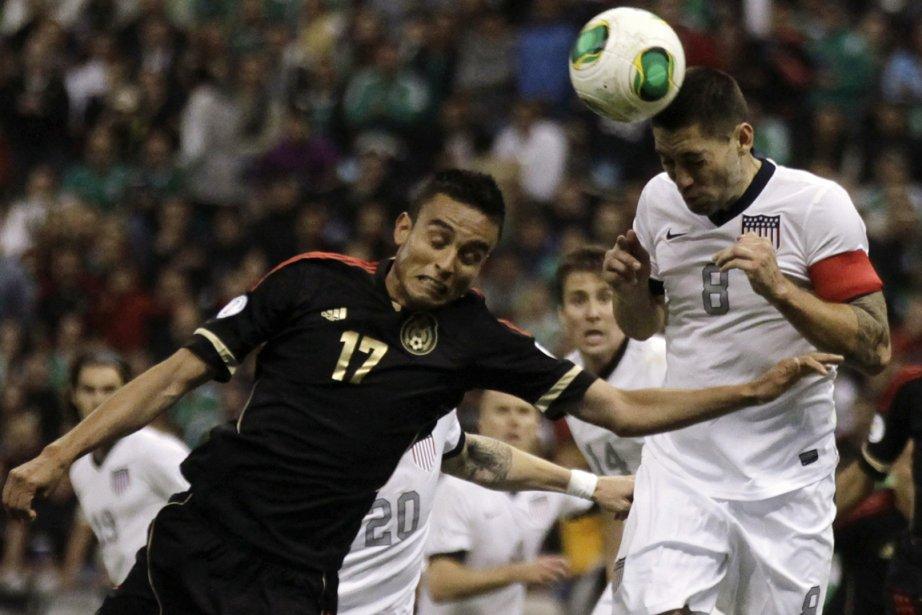 Le Mexique et les États-Unis ont fait match... (Photo Henry Romero, Reuters)