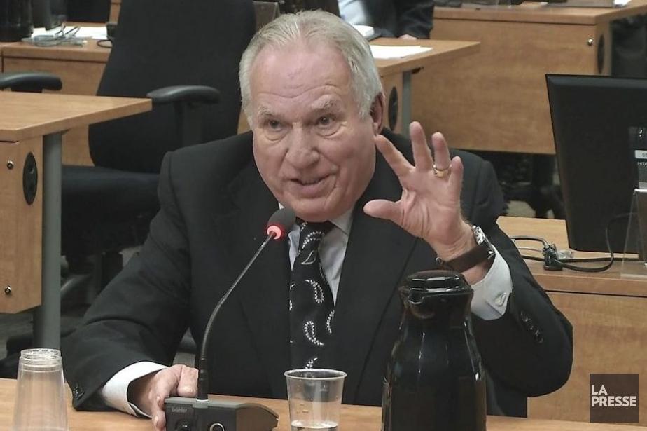Bernard Trépanier... (Image vidéo)