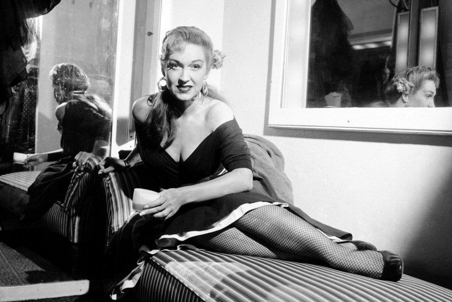 Risë Stevens en 1954... (Photo: archives AP)