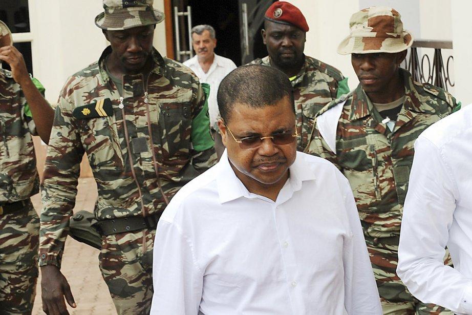 L'avocat et ancien opposant Nicolas Tiangaye dirigeait un... (PHOTO SIA KAMBOU, AFP)