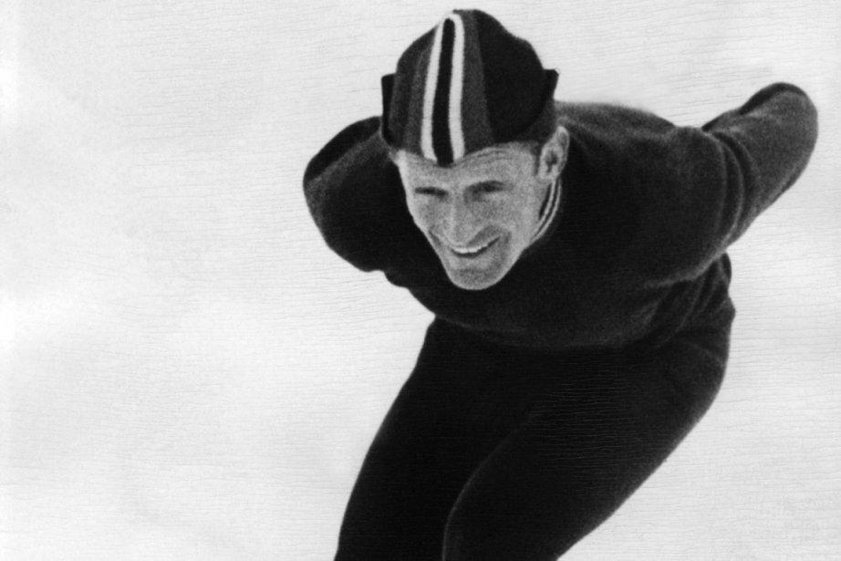 Le Norvégien Hjalmar Andersen a remporté trois médailles... (Photo archives AFP)