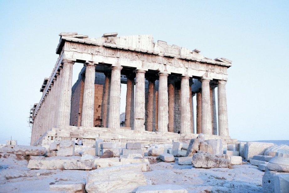 L'Acropole d'Athènes... (Photo: archives La Presse)