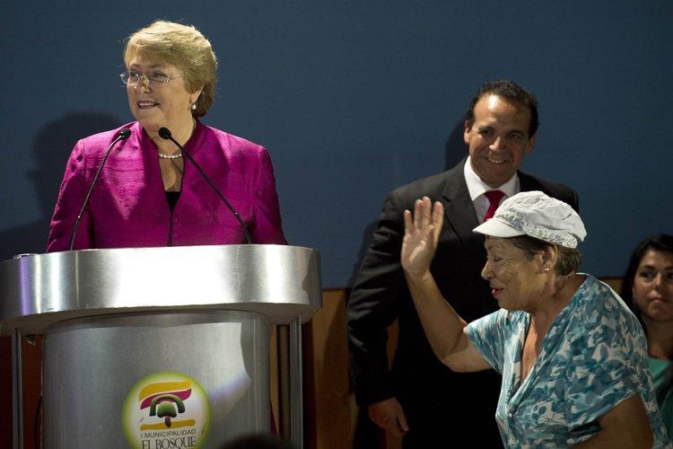 Mme Bachelet a fait part de «sa grande... (Photo: AFP)