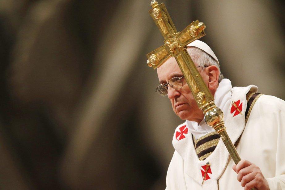 Devant1600 religieux, le pape François a fustigé les... (PHOTO ALESSANDRO BIANCHI, REUTERS)
