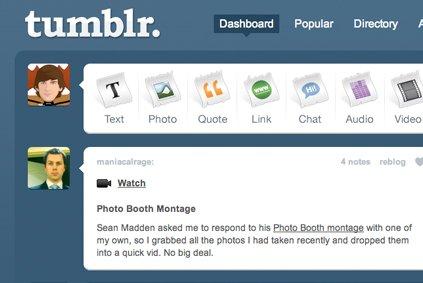 L'hébergeur Tumblr a passé la barre des 100 millions de blogues, ce qui...