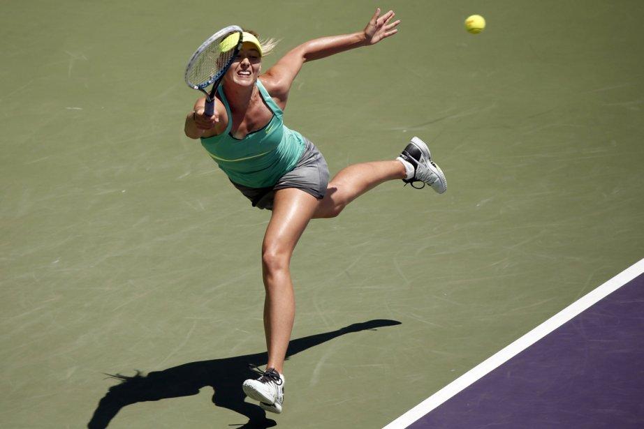 Maria Sharapova... (Photo Kevin Lamarque, Reuters)