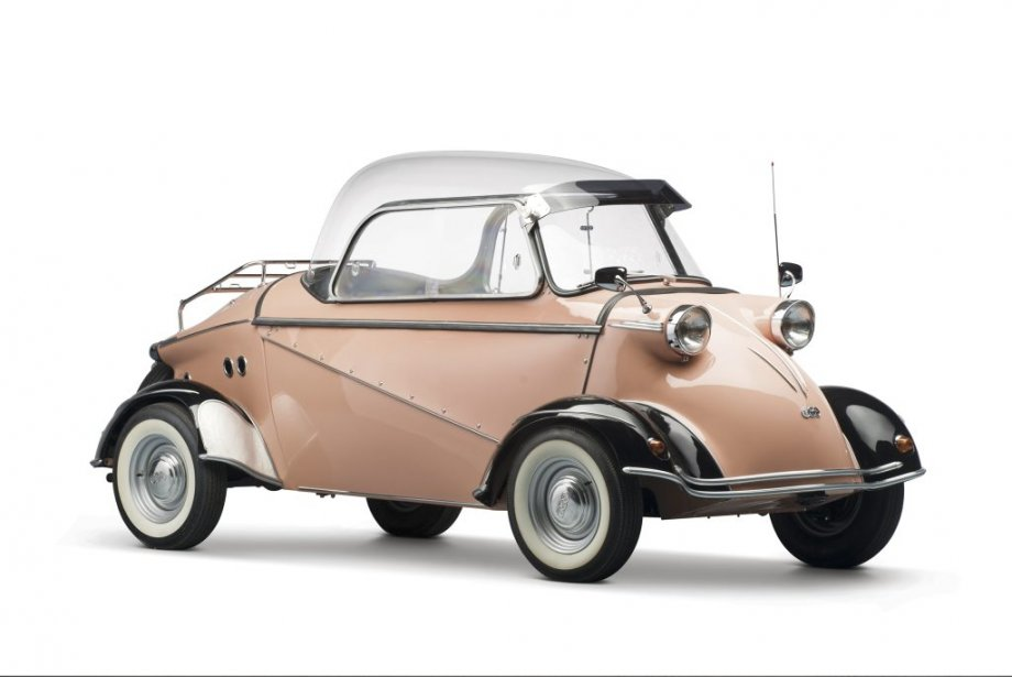 La Messerschmitt F.M.R TG 500 Tiger 1958, construite à 320 exemplaires, a inscrit un record mondial pour une micro-voiture. Elle a atteint une vitesse de pointede 125 km/h. (Photo fournie par RM Auctions)