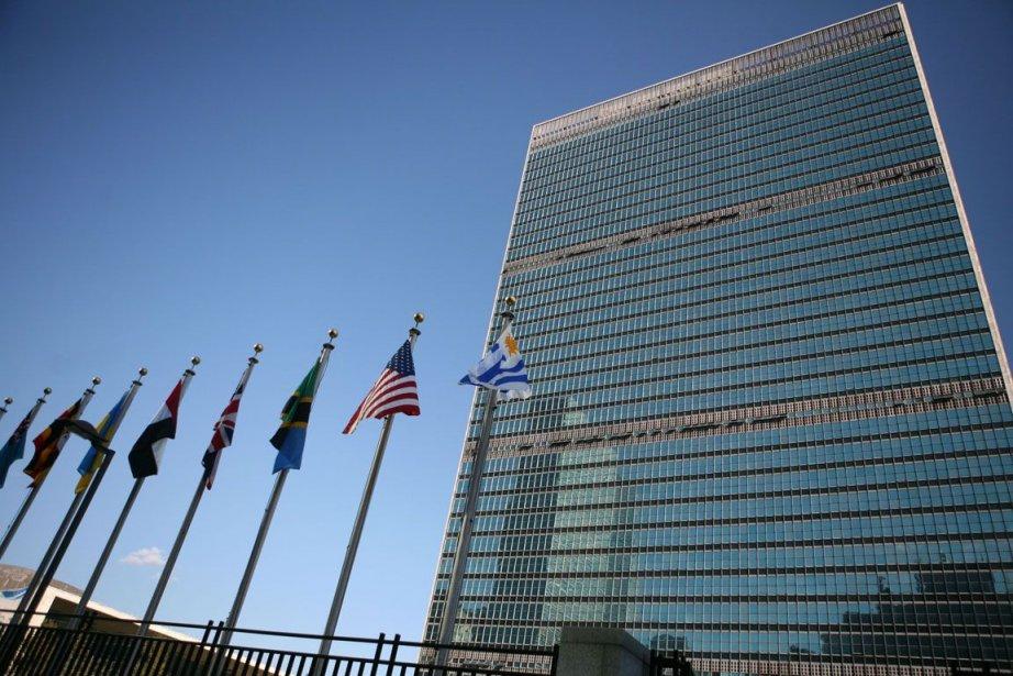 Le siège social de l'ONU à New York.... (PHOTO DANIEL BARRY, BLOOMBERG)