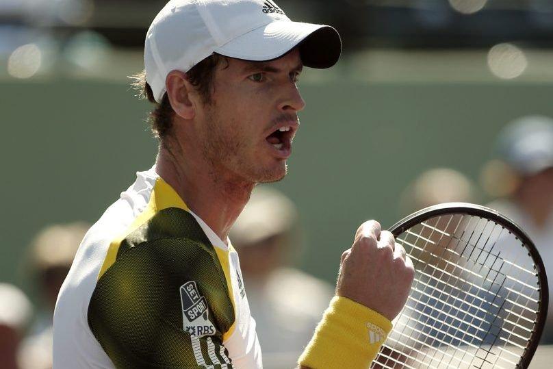 Andy Murray s'est qualifié pour les demi-finales du... (PHOTO KEVIN LAMARQUE, REUTERS)
