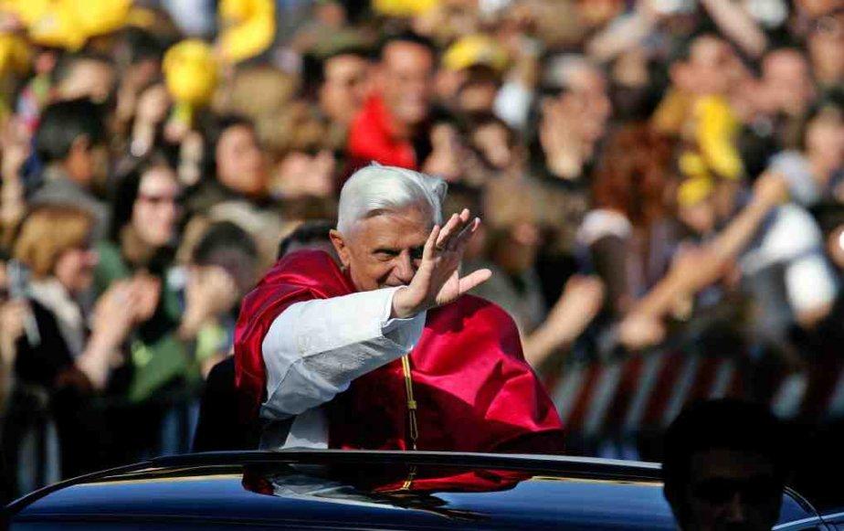 Pape Benoît XVI.... ((Courtoisie))
