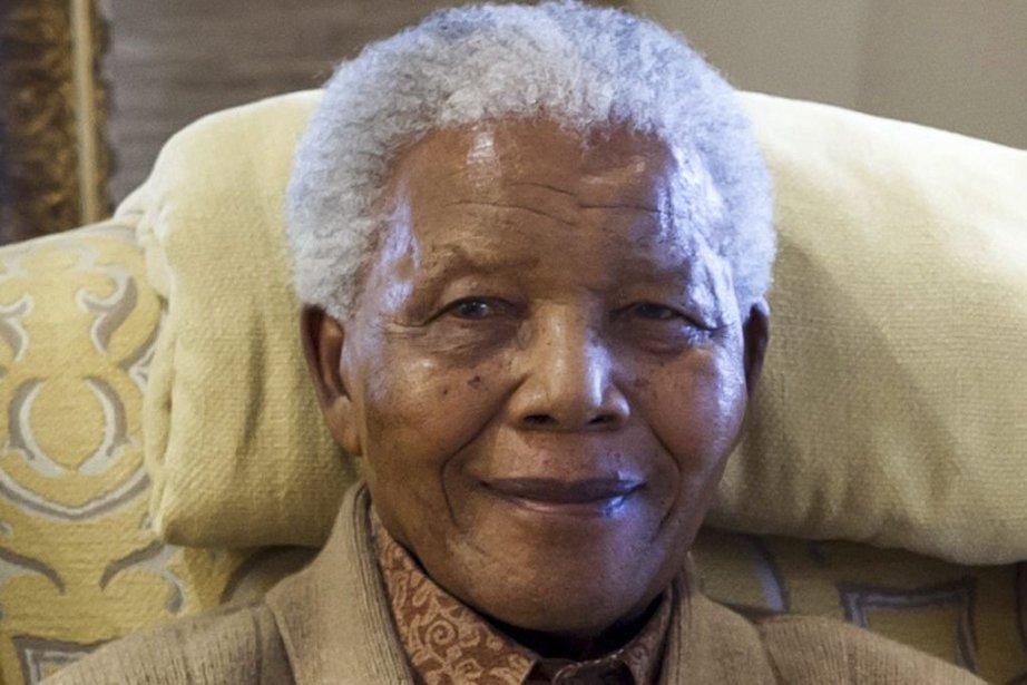 Nelson Mandela à son 94e anniversaire, en 2012.... (PHOTO BARBARA KINNEY, AFP)