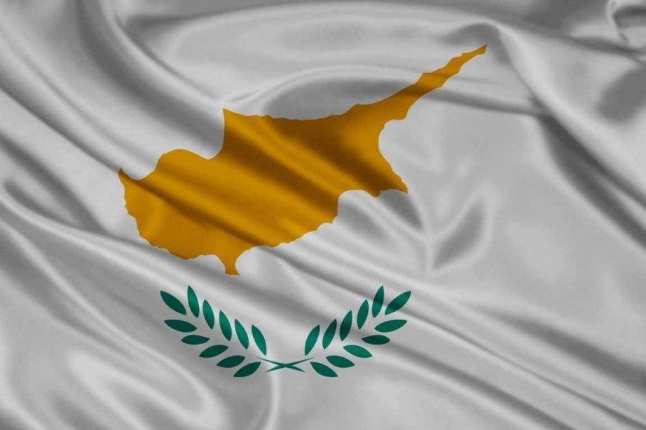 Le drapeau de Chypre.... (Photo AP)