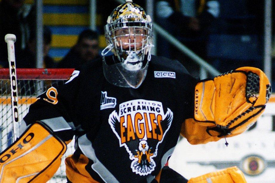 Le gardien des Penguins de Pittsburgh, Marc-André Fleury,...