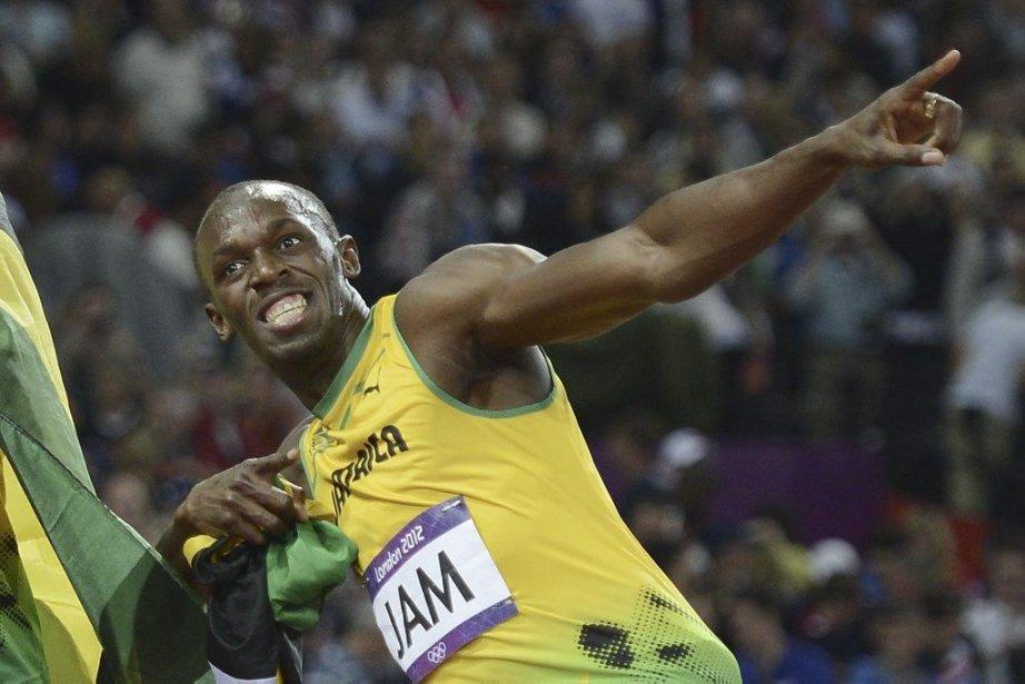 Usain Bolt... (Photo Adrian Dennis, AFP)