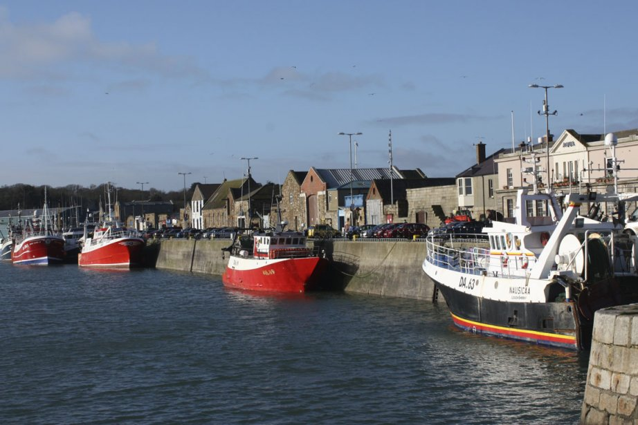 Howth est un important centre de pêche, mais... (Photo Mélanie Roy, La Presse)